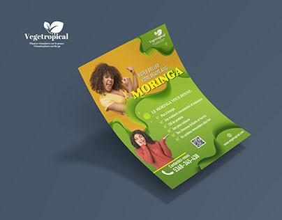 Moringa Product Flyer