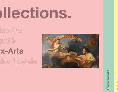 Webdesign Musée Sainte-Croix