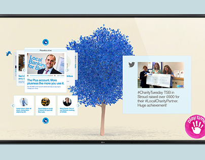 TSB interactive screen