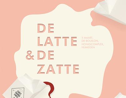 Poster design   De latte & de zatte 2016