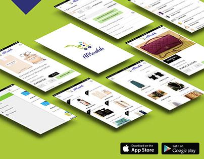UI/UX Design for Al-Koshk App