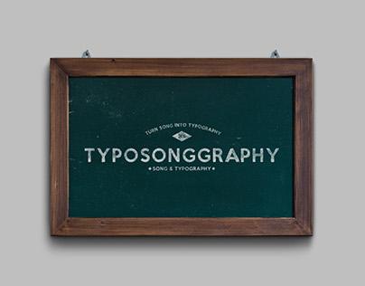 Typosonggraphy