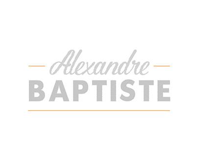 Alexandre Baptiste - BRANDING