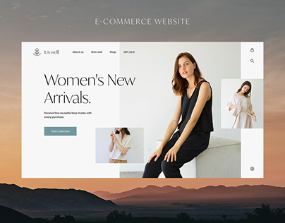 E-commerce website - It is well L.A.