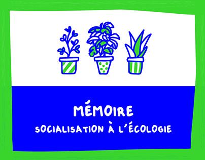 Mémoire de fin d'études - Écologie et éducation