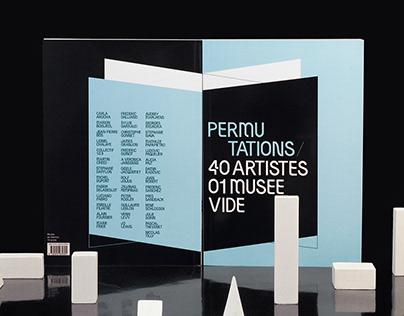 Catalogue / Permutations 40 artistes 01 musée vide
