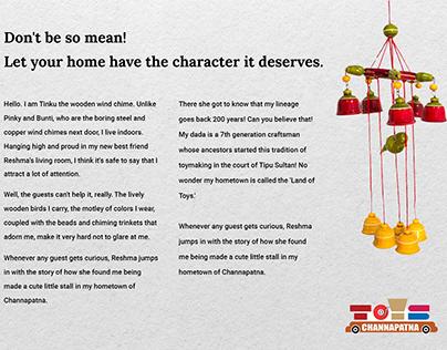Channapatna toys Print Campaign