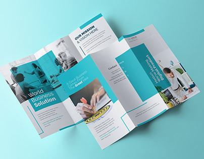 Minimal Tri Fold Brochure