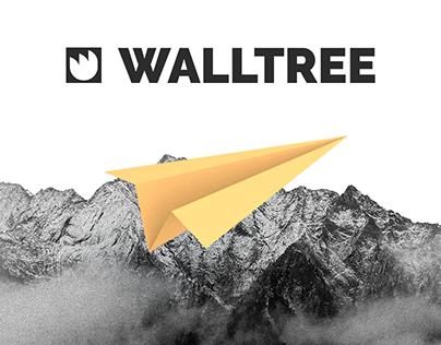 WallTree - company website design