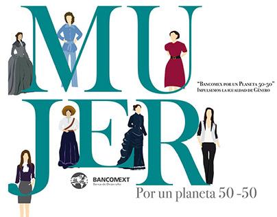 Bancomext por un planeta 50-50