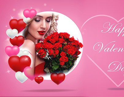 Valentine's Day Facebook Post Cover Design