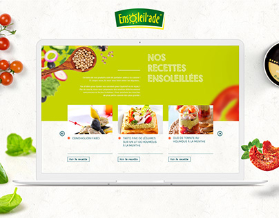Ensoleil'ade: site web