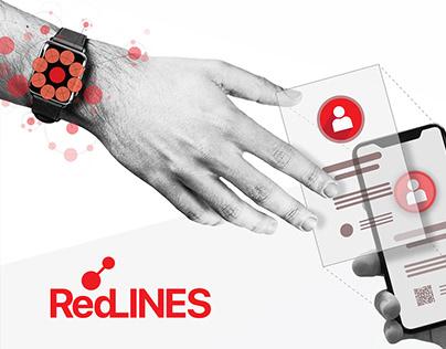 Branding - Visual Design - RedLINES App.