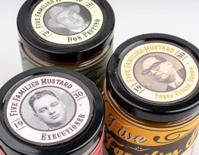 Five Families Mustard