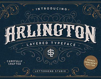 Free* Arlington Font