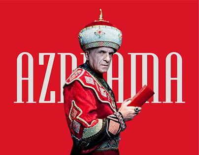 AZDRAMA Web Site Redesign Concept