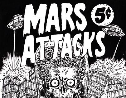 Mars Attacks | Poster