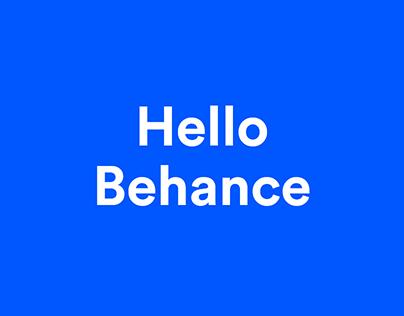 Hello Behance