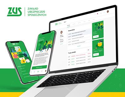 ZUS/ePUAP - Redesign Concept