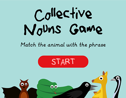Collective nouns game
