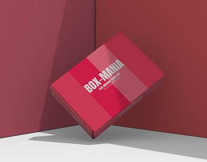 Mailing Box Mockup Template Download