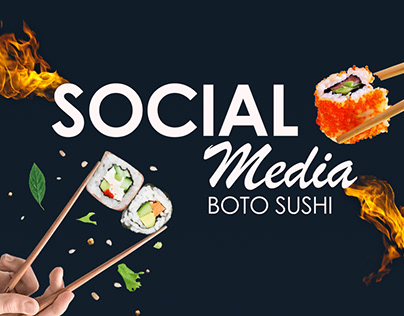 Social Media - Boto Sushi