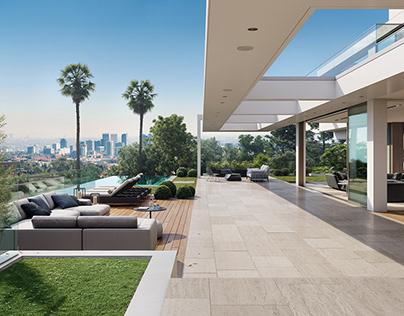 Private Villa in Los Angeles