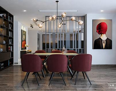 Living room/Kitchen - Apartment