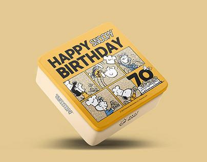 Daily Boost x SNOOPY 70周年派對鐵盒
