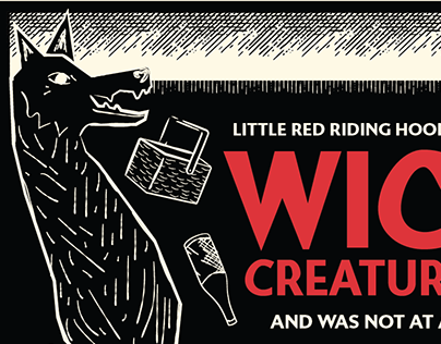 Little Red Riding Hood Animated Poster