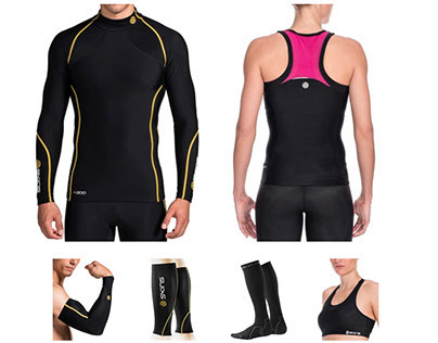 SPORTS APPAREL design: Skins Compression Wear