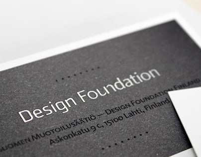 Design Foundation Finland - Visual Identity & UI/UX