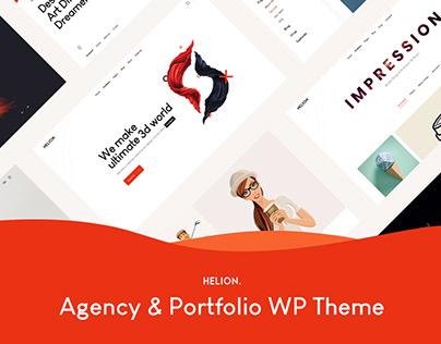 Helion | Personal Creative Portfolio WP Theme + Store