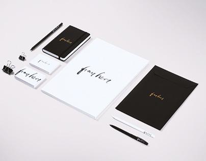 Logo Design: Frau Herz Photography