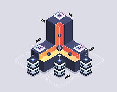 Isometric illustration May 2020