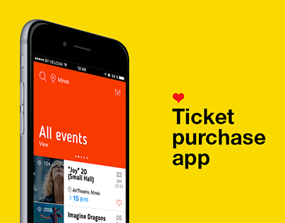 Ticket Purchase Mobile App