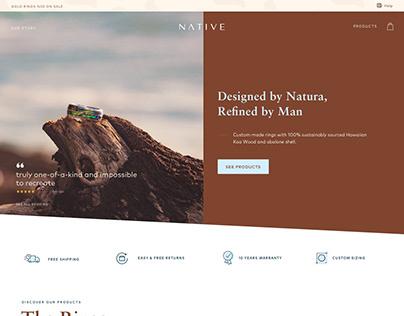 NATIVE - Makoa Ring Commerce Landing