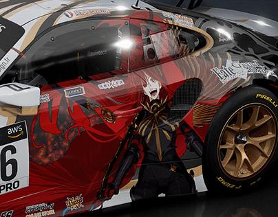 Porsche 911II GT3 R Demon King Nobunaga