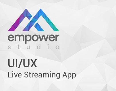 empower studio - mobile live streaming app