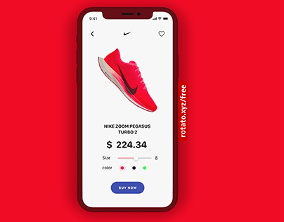 Nike pegasus turbo 2 Animation
