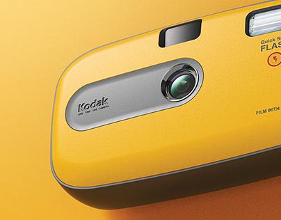 RE MAKE DESIGN KODAK (one time use camera)