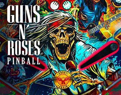 GUNS N ROSES by JERSEY JACK PINBALL