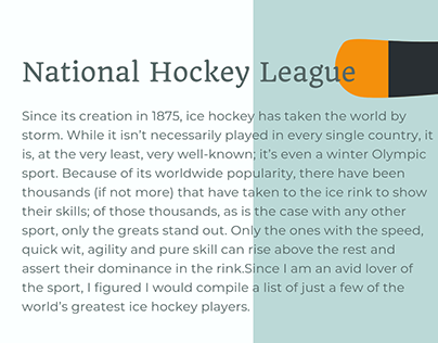 David Grislis | Best Hockey Players in the World
