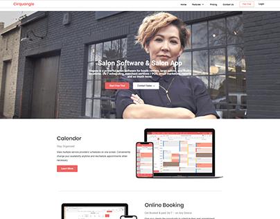 Responsive website by Elementor pro