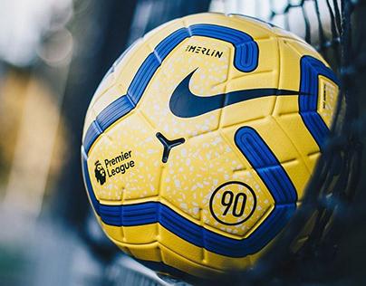 Nike Merlin Hi-Vis | Premier League Match Ball 2019/20