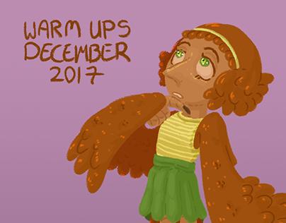 Daily Warm Ups: December 2017