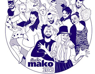 studio mako 2018