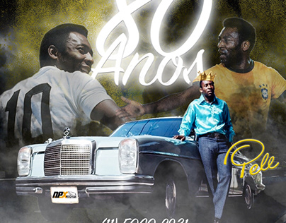 Aniversário 80 anos rei Pelé