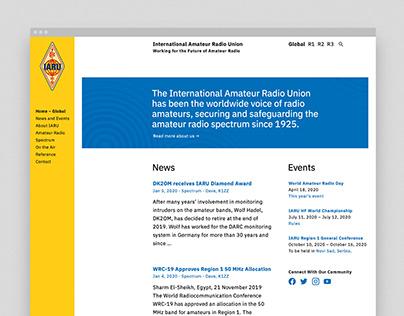 International Amateur Radio Union Website