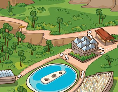 Palmitos Park Map
